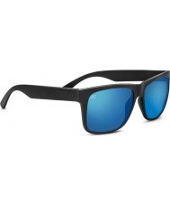 Serengeti Positano Sanded Dark Grey Polarized 555nm Blue Sunglasses
