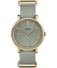 Timex Originals TW2P88500 Tonal Green Nylon Strap Watch