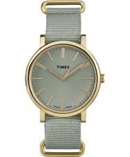 Timex Originals TW2P88500 Tonal Green Nylon Strap Watch