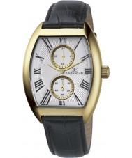 Thomas Earnshaw ES-8004-03 Mens Holborn Multifunctional Black Leather Strap Watch