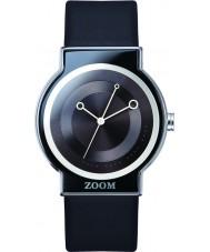 Zoom ZM-3766M-2501 Beat Black White Watch