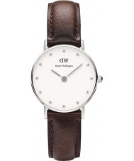 Daniel Wellington DW00100070 Ladies Classy Bristol 26mm Silver Watch