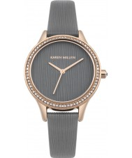 Karen Millen KM165ERG Ladies Watch