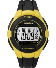 Timex TW5K95900 Ironman 30-Lap Full Size Black and Yellow Resin Strap Watch