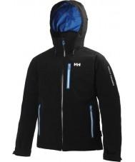 Helly Hansen 62149-991BLA-XL Mens Motion Black Jacket - Size XL