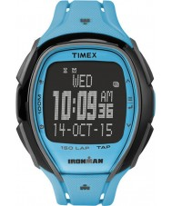 Timex TW5M00600 Ironman 150-Lap Full Size Sleek Blue Resin Strap Watch