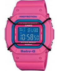 Casio BGD-501-4ER Ladies Baby-G Pink World Time Resin Strap Watch