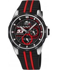 Lotus L18259-3 Mens Marc Marquez Black Rubber Strap Watch