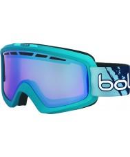 Bolle 21465 Nova II Matte Blue Gradient - Modulator Vermillon Blue Ski Goggles