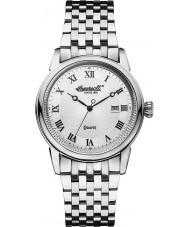 Ingersoll INQ030WHSL Mens Grafton Silver Steel Watch