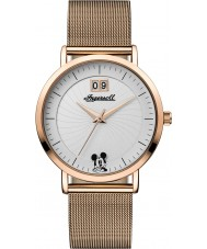 Disney by Ingersoll ID00504 Ladies Union Rose Gold Plated Mesh Bracelet Watch
