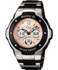 Casio MSG-300C-1BER Ladies Baby-G Dual LED Display Watch