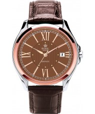 Royal London 41152-06 Mens Automatic Brown and Steel Watch