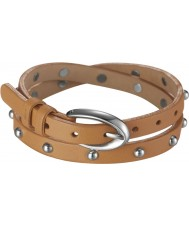 Esprit ESBR11335A380 Rock Rio Caramel Brown Bracelet