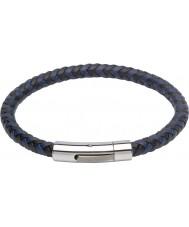 Unique B284BL-21CM Mens Bracelet