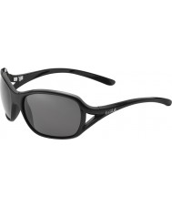 Bolle Solden Shiny Black Polarized TNS Sunglasses