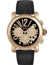 Pocket PK3022 Mens Rond Chrono Grande Gold Black Watch