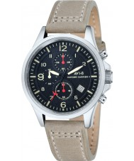 AVI-8 AV-4001-03 Mens Hawker Harrier II Light Camel Leather Strap Chronograph Watch