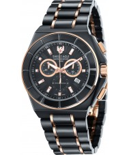 Swiss Eagle SE-9053-44 Mens Polar King Black Chronograph Watch