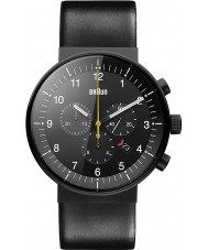 Braun BN0095BKG Mens Prestige Black Chronograph Watch