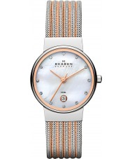 Skagen 355SSRS Ladies Klassik Two Tone Steel Watch