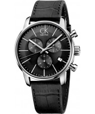 Calvin Klein K2G271C3 Mens City Black Chronograph Watch