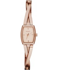 DKNY NY2314 Ladies Crosswalk Rose Gold Plated Bracelet Watch