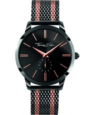 Thomas Sabo WA0282-285-203-42mm Mens Rebel Spirit Two Tone Mesh Bracelet Watch