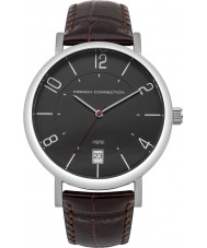 French Connection FC1268UT Mens Brown Leather Strap Watch