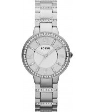 Fossil ES3282 Ladies Virginia Silver Steel Watch