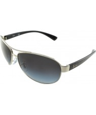 RayBan RB3386 63 Active Lifestyle Silver 003-8G Sunglasses