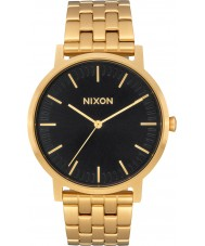 Nixon A1057-2042 Mens Porter Gold Plated Bracelet Watch