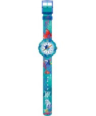 Flik Flak FLSP011 Girls Disney Pixar Finding Dory Multicoloured Textile Strap Watch