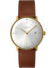 Junghans 027-7700-00 Max Bill Cognac Brown Automatic Watch