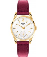Henry London HL30-US-0060 Ladies Holborn White Burgundy Watch