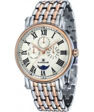 Thomas Earnshaw ES-8031-55 Mens Maskelyne Two Tone Bracelet Watch