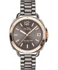 Coach 14502597 Ladies Tatum Grey IP Bracelet Watch