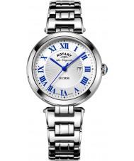 Rotary LB90186-01-L Ladies Les Originales Lucerne Silver Steel Bracelet Watch