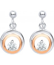 Purity 925 PUR3832ED Ladies Earrings