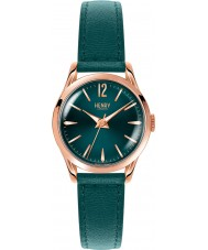 Henry London HL25-S-0128 Ladies Stratford Mallard Green Leather Strap Watch