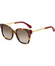 Kate Spade New York Ladies CAELYN S 65T HA 52 Sunglasses