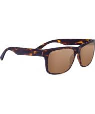 Serengeti Positano Sanded Dark Tortoiseshell Polarized Drivers Gold Mirror Sunglasses