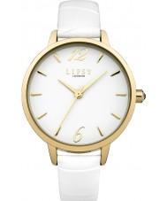 Lipsy LP429 Ladies White PU Strap Watch