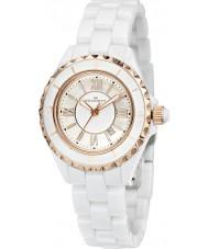 Kennett LWCERWHRG Ladies Classic White Ceramic Bracelet Watch