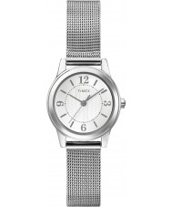 Timex Originals T2P457 Ladies Silver Tone Mesh Watch