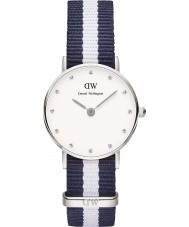 Daniel Wellington DW00100074 Ladies Classy Glasgow 26mm Silver Watch
