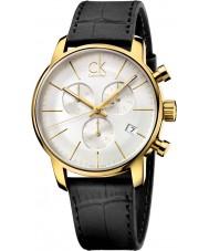 Calvin Klein K2G275C6 Mens City Gold Black Chronograph Watch