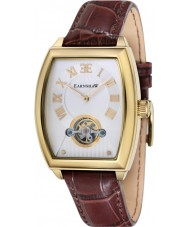 Thomas Earnshaw ES-8044-03 Mens Robinson Brown Leather Strap Watch