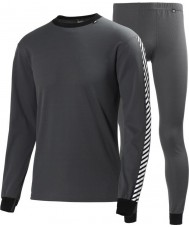 Helly Hansen 27994-964CHA-XL Mens Dry Charcoal 2 Pack Baselayer - Size XL