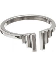 Edblad Ladies Divine Wings Silver Tone Ring